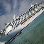 our ship docked in Cozumel